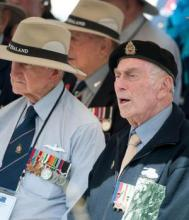 Veterans at the Anniversary Celebrations