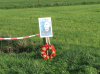 The place in the polder where his Spitfire crashed.